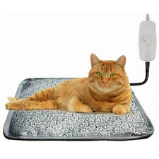 Large Heated Pet Dog Cat House Warm Waterproof Electric Heating Pads Bed
