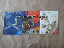 Vintage Lot of 3  B. Collins Pen Catalogs