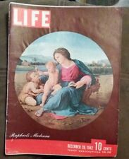 LIFE MAGAZINE December 28 , 1942. WWII, Rommel, how to milk a cow