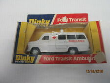 DINKY TOYS FORD TRANSIT AMBULANCE #276 IN THE PACKAGE
