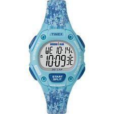 "Timex TW5M16200,  Women's ""Ironman"" 30-Lap Blue Resin Watch, Alarm, Indiglo"