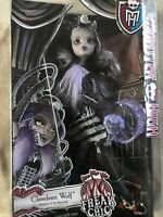 RARE 2014 CLAWDEEN WOLF FREAK DU CHIC MONSTER HIGH DOLL MATTEL