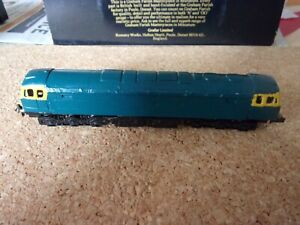 n gauge locomotives Class 47 kit built body on Lifelike chassis