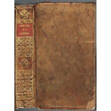 Les OFFICES de CICÉRON Traduit du Latin par M de BARRETT Éloquence & Patrie 1809