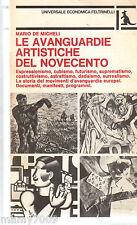 LIBRO=LE AVANGUARDIE ARTISTICHE DEL NOVECENTO=11° EDIZIONE 1981=MARIO DE MICHELI