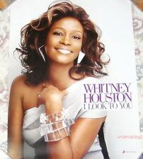 Whitney Houston I Look to You 2009 Taiwan Promo Poster
