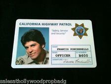 "CHP ""Chip's ""Ponch"" Id Card 80'sTv Show NEW"