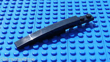 Lego 85970 1x10 Curved Slope Black X 2 **Brand New Lego**