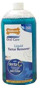 Nylabone Advanced Oral Care Liquid Tartar Remover Liquid Dog Mouth Odor 32oz.