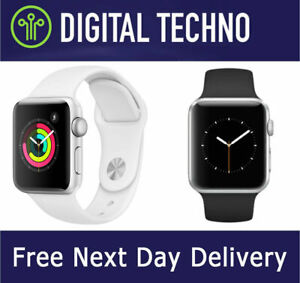 Apple Watch Series 4 - Silver 40mm Wi-Fi GPS iWatch with Sports Band Strap