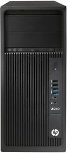 HP Z240 Workstation Core i7-6700 3.40GHZ Nvedia  K5000 64GB 1TB SSD Win 10 Pro