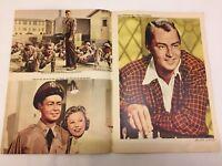 The McConnell Story Alan Ladd June Allyson 1955 Danish Movie Magazine Program