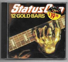 Status Quo - 12 Gold Bars **Australian CD Album** Used VGC