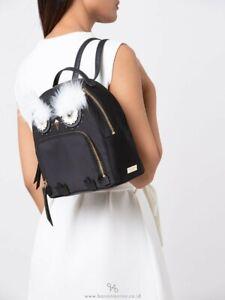 Kate spade Black Owl Backpack Bag