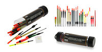 24 Mixed  Fishing Floats in Tube Carp, Coarse , River Lake Canal For Float Rod