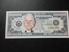 Steve Martin $1 million Dollar Note Nouveauté Bill $1,000,000 Acteur Comédien stand