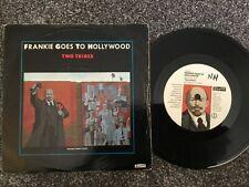 VINYL RECORD SINGLE VINTAGE RETRO 45 FRANKIE HOLLYWOOD TWO TRIBES PICTURE COVER