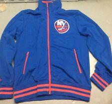 New York Islanders Jacket Size Large Mitchell Ness NHL Hockey NY
