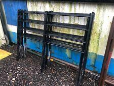 Heavy Duty Metal/Galvanized Garden Fence Panels Qty 9