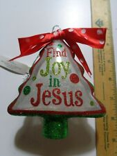 Jesus Tree Shaped Ornament