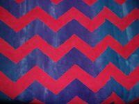 Batik Kaffe Fassett Lightening Red Blue Free Spirit Quilting Cotton Fabric YARD