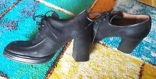 Schuhe A.S.98 Gr.38 Hochfrontpumps as98 Echtleder schwarz Ankle Boots airstep