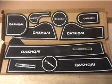INTERIOR DASHBOARD MAT GATE PAD TRIM SET QASHQAI 2008 - 2013 - WHITE ONLY