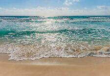 BIG Wall Mural Photo Wallpaper Seaside - beach scene blue ocean view 368x254cm