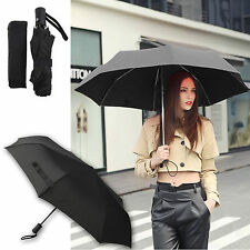 Automatic Open&Close Folding Compact Super Windproof Anti Rain Sun Umbrella