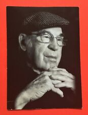 Scarce Canadiens Butch Bouchard Funeral Prayer Photo Postcard