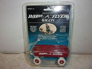 """Radio Flyer Red Wagon Mini 5"""" Long Little  Doll Toy Replica - New"""