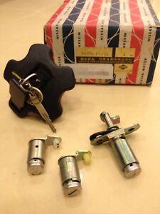 280ZX (S130) Nissan Datsun Original NOS Complete Door Lock Kit fits 1979 To 1984