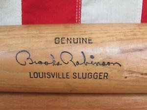 "Vintage Louisville Slugger H&B Wood Baseball Bat HOF Brooks Robinson Model 34"""