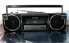 Panasonic RX-FM25 Boombox, AC/Battery Operated AM/FM Radio/Cassette Recorder
