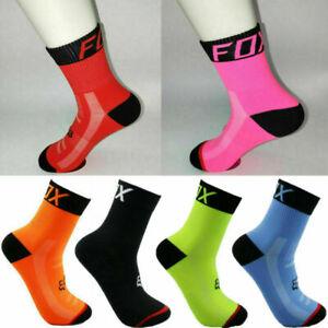 HOT Women Men MTB Cycling Riding Socks Basketball Running Sport Breathable Sock