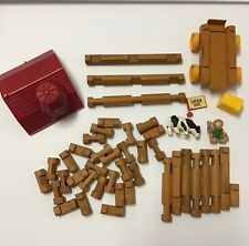 The Original Lincoln Logs Building Set, Wooden, Frontier Lookout
