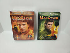 MacGyver: The Complete First & Third Season (Dvd, 1987) Seasons 1 (new) 3 (used)