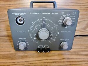 Heathkit C-3 Capacitor Tester Condenser Leakage Checker Completely Refurbished