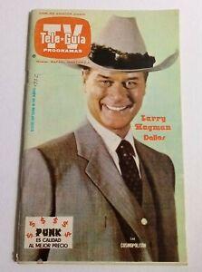 TV GUIDE J.R. DALLAS Larry HAGMAN magazine Mexico BUCK ROGERS poster MIROSLAVA
