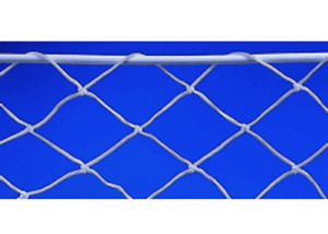Guard rail Polyester netting White, 5cm x 5cm mesh, and up to a max of 1m high