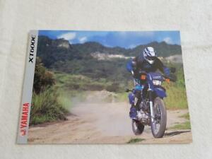YAMAHA XT600E Motorcycle Sales Brochure 1999 #0107004-99E