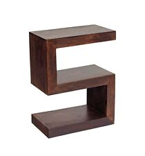 S Shaped Display Unit/End Table Ajak Mango Collection ML02