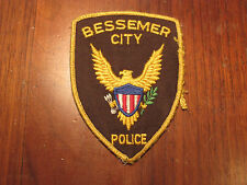 BESSEMER NORTH CAROLINA POLICE PATCH