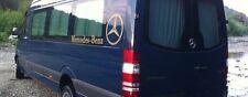 Mercedes NEU Sprinter VW Crafter Fenster Vorhänge Satz schwarz Farbe Sun Blenden