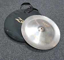 "Zildjian Zxt 18"" Acabado Titanio platillo China Con Bolsa rkzch 011018! usado!"