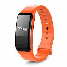 Waterproof Bluetooth Fitness Smart Watch Band Heart Rate Blood Pressure Monitor
