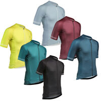 Mens 2021 Cycling Jersey Striped Bike Riding Jersey Clothing Shirt Short Outfits