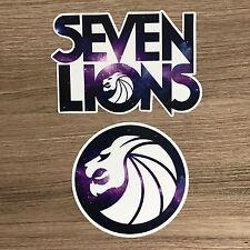Seven Lions Vinyl Sticker Set - Free Shipping