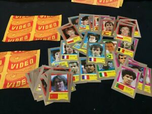 collection lot 50 reyauca soccer world cup 1986 platini not panini stickers