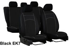 TOYOTA HILUX 2005-2016 ECO LEATHER TAILORED SEAT COVERS MADE TO MEASURE FOR CAR